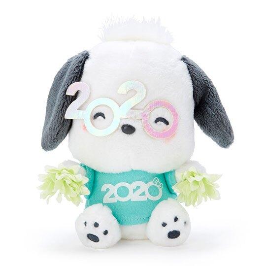 小禮堂 帕恰狗 沙包絨毛玩偶娃娃《S.綠》沙包玩具.擺飾.2020花漾系列
