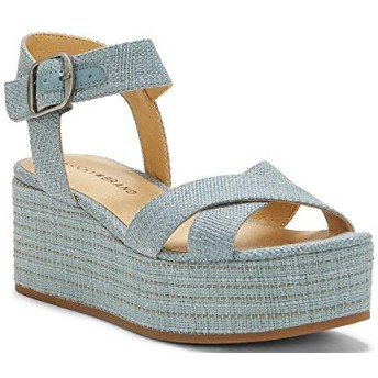 [ラッキーブランド] シューズ サンダル Bainda Woven Flatform Sandals Lead レディース [並行輸入品]