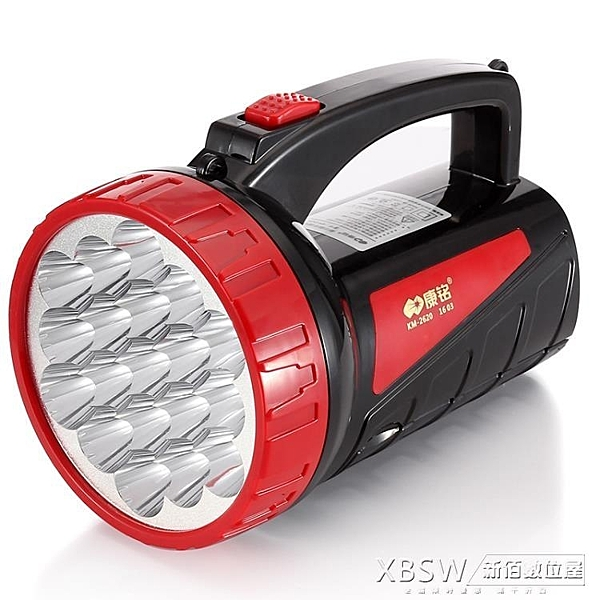 led手電筒強光充電超亮多功能手提特種兵戶外探照燈家用電筒CY『新佰數位屋』