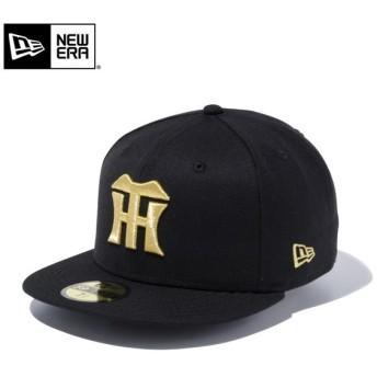 【メーカー取次】 NEW ERA ニューエラ 59FIFTY NPB 阪神タイガース ブラックXゴールド 12490429 キャップ 日本プロ野球 帽子【Sx】