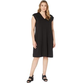 [エイリーンフィッシャー] レディース ワンピース Plus Size V-Neck Dress [並行輸入品]