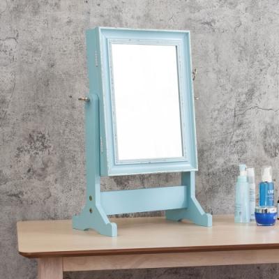 Boden-復古桌上型化妝鏡/首飾收納鏡/立鏡