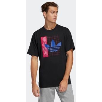 期間限定SALE 4/3 17:00〜4/7 17:00 アディダス公式 ウェア トップス adidas グリッド トレフォイル 半袖Tシャツ