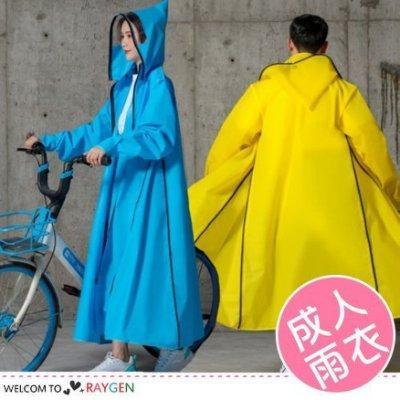 八號倉庫 時尚風衣式多功能雨衣 防水外套 附收納袋 大尺碼【2W073M484 】