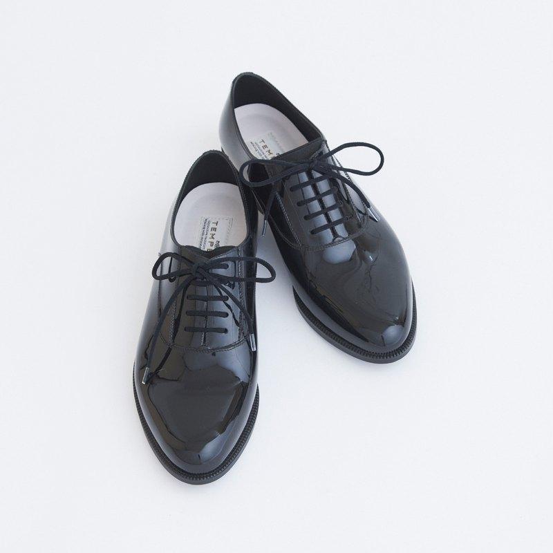 晴雨兩用 黑色綁帶牛津 雨鞋 PVC OSTERA (BLACK) PVC OXFORD LAC
