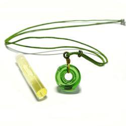 AK~香氛珠寶 【安心禮盒-森林綠】精油瓶飾品/精油飾品/香氛項鍊/香氛飾品/精油項鍊/聞香鍊