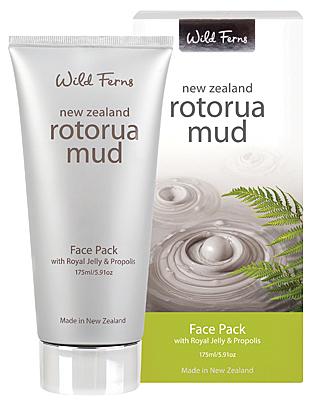 羅托魯瓦火山泥淨化活膚面膜175ml (添加蜂王乳和蜂膠) 大容量 Wild Ferns
