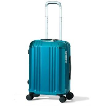 A.L.I アジアラゲージ スーツケース 機内持込可能サイズ デカかるEdge 33L ALI-008-18 (ターコイズブルー)