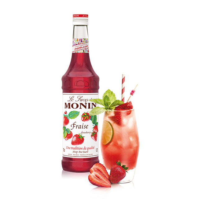 開元食品 Monin糖漿-草莓700ml