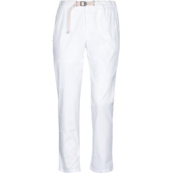 《セール開催中》WHITE SAND 88 レディース パンツ ホワイト 0 コットン 97% / ポリウレタン 3%