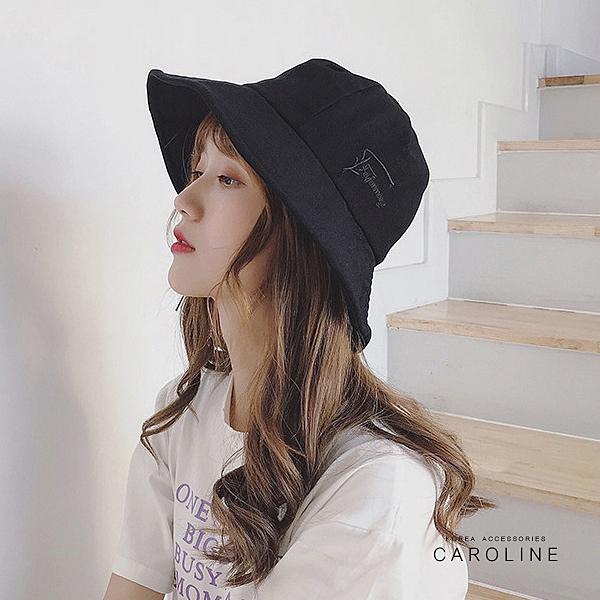 《Caroline》夏天防曬遮陽造型時尚設計漁夫帽百搭防曬太陽帽72137