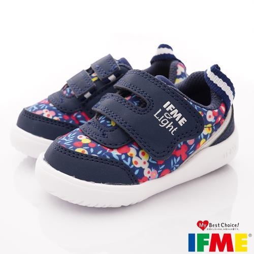 IFME IF22-970002 健康機能鞋 Light超輕學步鞋款深藍