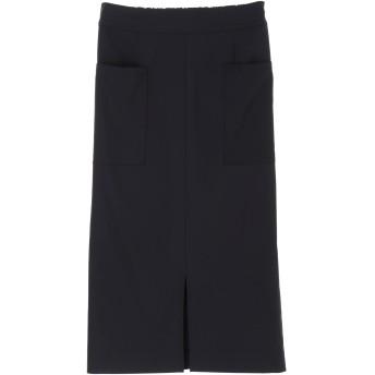 【6,000円(税込)以上のお買物で全国送料無料。】・ストレッチツイルタイトスカート