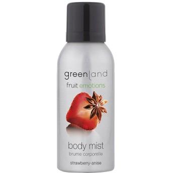 greenland ボディミスト [FruitEmotions] 75ml ストロベリー&アニス FE0207