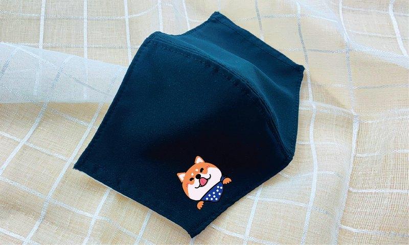 公主恐龍款防潑水透氣立體兒童抗菌口罩套3入