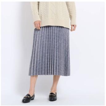 【AG バイアクアガール/AG by aquagirl】 【JELLY12月号掲載】ツイードプリーツスカート