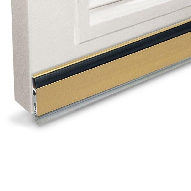 門擋條 門縫條 門縫擋 門底氣密條 擋塵刷 (915mm長 * 42mm寬)