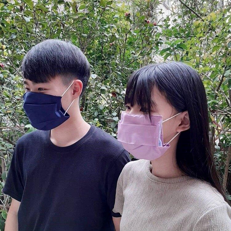 MIT台灣製 水洗棉布口罩保護套 口罩套 (顏色隨機)【AG06009】i-style 居家生活