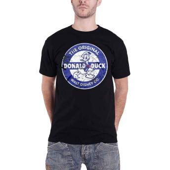 Disney T Shirt Vintage Donald Duck 新しい 公式 メンズ Size XXL