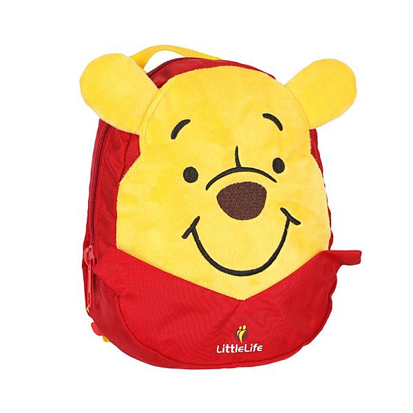 【愛吾兒】英國 LittleLife 迪士尼 維尼小童輕背包 (附防走失帶)