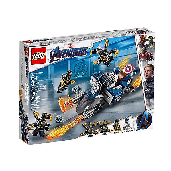 樂高 LEGO 超級英雄系列 LT76123 Captain America: Outr