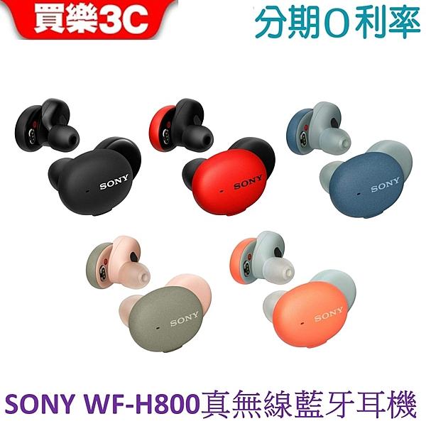 SONY WF-H800 真無線藍牙耳機 (擇一送 美食鍋/瓷器)【神腦代理】分期0利率