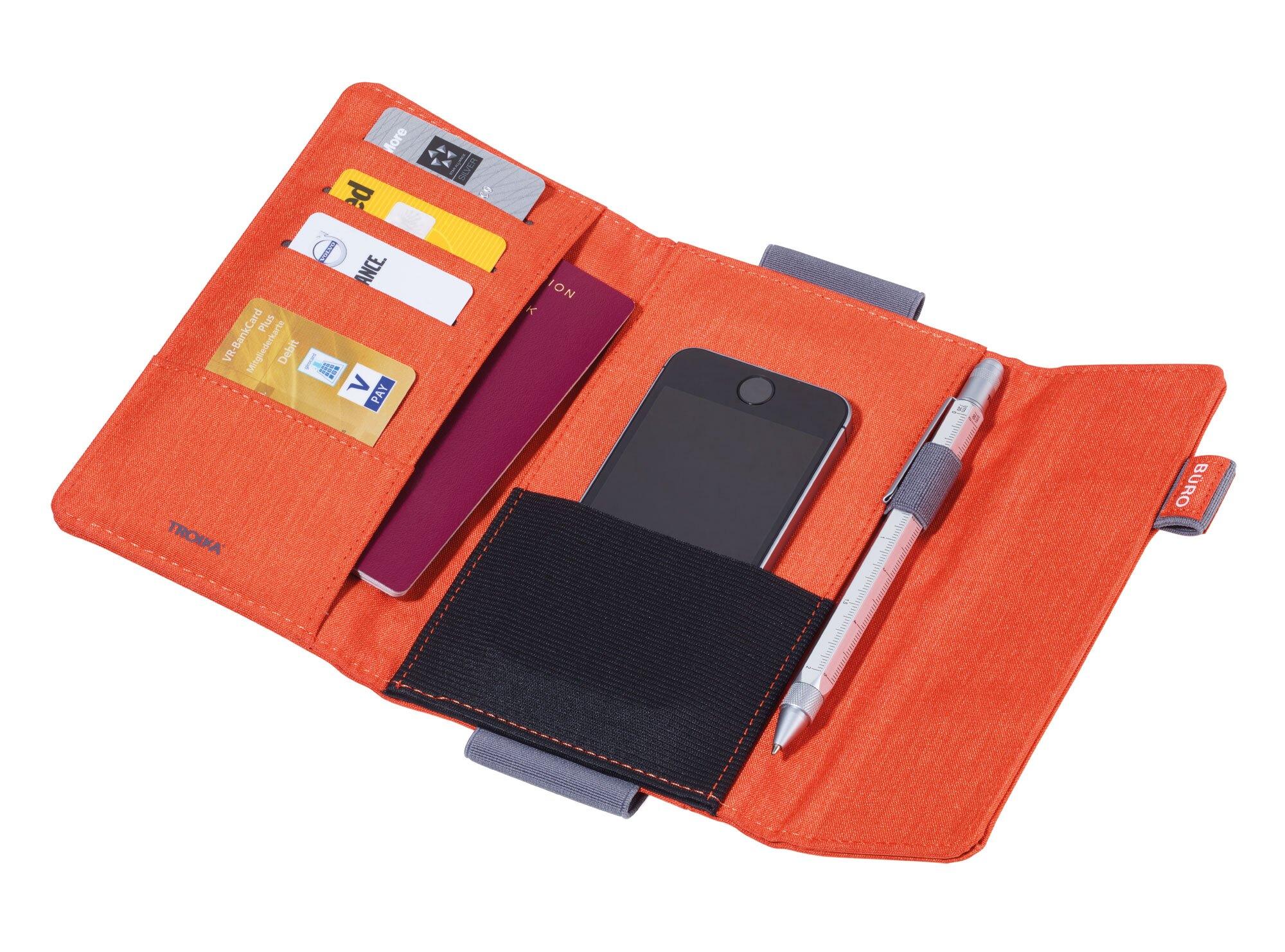 TROIKA 磁吸式手機旅行證件收納包