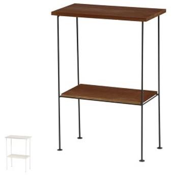 サイドラック スチールラック 木製棚板 DEPOT 幅35cm ( 収納ラック 収納 収納棚 飾り棚 ラック 完成品 オープンラック ディスプレイラッ