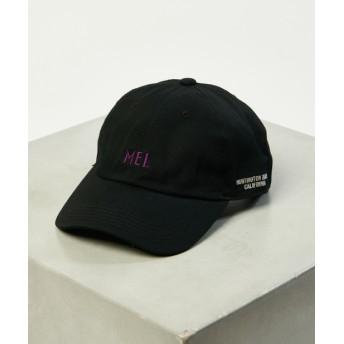 Discoat(ディスコート) メンズ 【MEI/メイ】 ツイルロゴキャップ ブラック