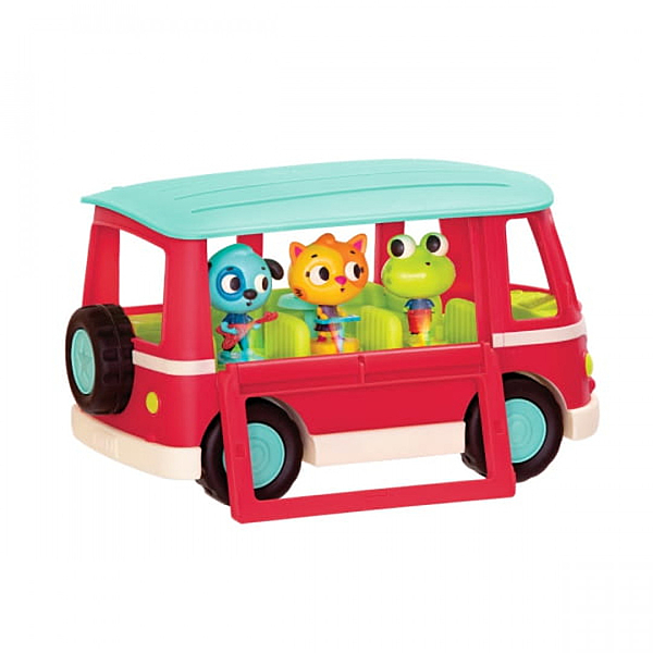 《 美國 B.toys 感統玩具 》嘟嗶嘟音樂胖卡 / JOYBUS玩具百貨