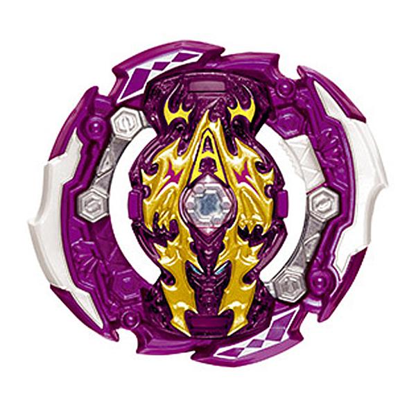 戰鬥陀螺 BURST#152-4 審判阿修羅 紫 確認款 結晶輪盤 VOL.03 超Z覺醒 BEYBLADE