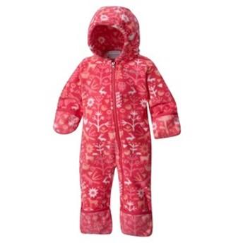 コロンビア アウトドアウェア Snowtop II Bunting Kid's  12~18M(80)  639(Punch Pink Critters)