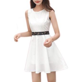 ワンピース 膝丈 ノースリ ノースリーブ オケージョン 結婚式 春 レディース 20代 30代 40代 ノースリーブ タイトワンピース結婚式 白 ワンピース ドレス 黒 大きいサイズ M フォーマル おしゃれ タイト