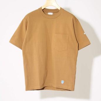 (オーチバル) ORCIVAL ポケットTシャツ [RC-9166] CAMEL 2