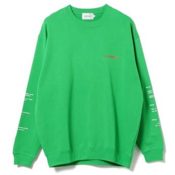 【ビームス メン/BEAMS MEN】 ALMANIAC / Flux Car Crewneck Sweatshirt