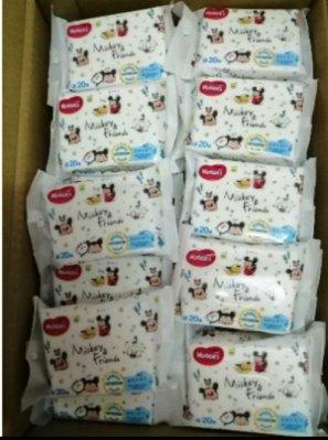 現貨 加厚20抽 新版 新包裝 米奇米妮 米奇 迪士尼 好奇濕紙巾 純水柔濕巾 加厚濕紙巾 菁菁媽咪 特價1包22元