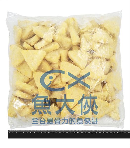 1I1B【魚大俠】FF227麥肯小三角薯餅(2kg/包)#4970三角