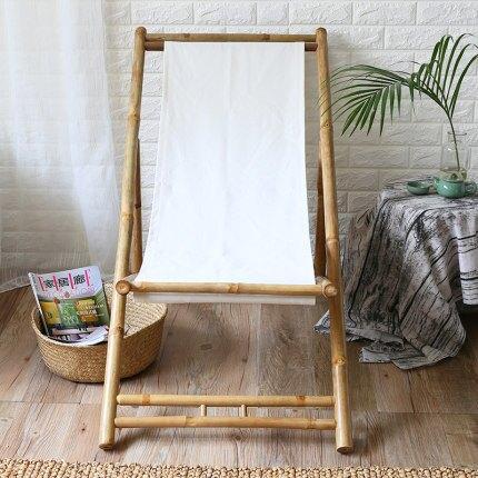 竹躺椅 竹躺椅折疊椅成人午休睡椅靠椅老人逍遙椅家用陽臺夏涼椅『SS1388』