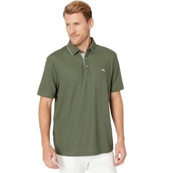 Tommy Bahama トップス シャツ Limited-Edition Emfielder Fore O'Clock P Palm Moss メンズ [並行輸入品]