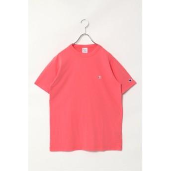 ヴァンスエクスチェンジ Champion ワンポイントTシャツ メンズ ピンク M 【VENCE EXCHANGE】