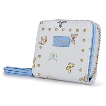 レディース 女性 財布 札入れ 小銭入れ 紙幣 ファッション クラッチバッグ レザー ウォレット バッグ ハンドバッグ 短型 大容量 複数カード収納 (Color : Blue, Size : 119.53.5cm)