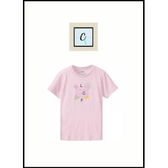 Are-en-ciel de bone fortune ️Tシャツ pink
