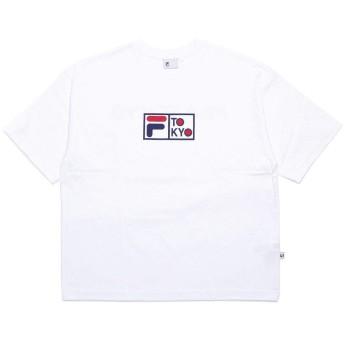 FILA HERITAGE Tシャツ BOXロゴ FILATOKYO ビックシルエット カジュアル ユニセックス ロゴT FM9841
