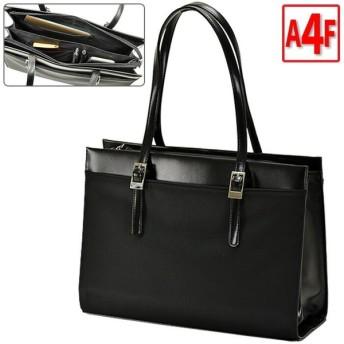 ビジネスバッグ レディース トートバッグA4ファイル 軽量 軽い 大容量 通勤 面接 就活 リクルートバッグ 営業バッグ