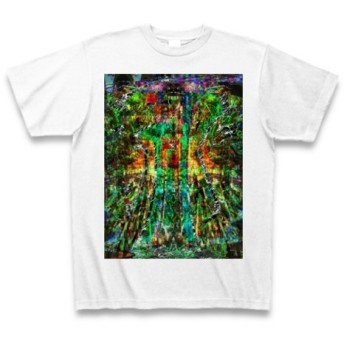 祁◆アート◆文字◆ロゴ◆ヘビーウェイト◆半袖◆Tシャツ◆ホワイト◆各サイズ選択可