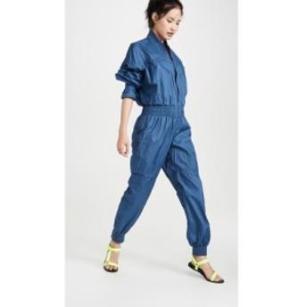 アディダス adidas by Stella McCartney レディース オールインワン ワンピース・ドレス Coveralls Vista Blue