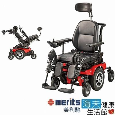 海夫健康生活館 國睦美利馳 艾宜德王 平躺 斜躺 空中傾倒 電動輪椅_P323