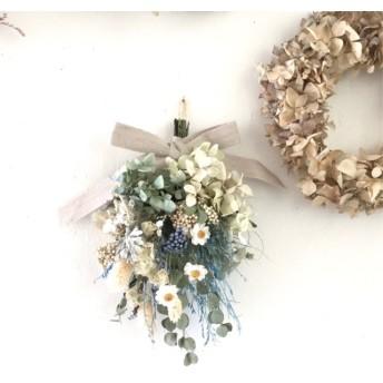 3点おまとめご予約 ユーカリ 花かんざし スワッグ ドライフラワー プレゼント 誕生日プレゼント 母の日