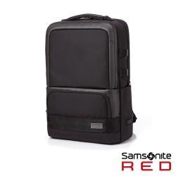 Samsonite RED HO-ONE 智慧型可拆卸筆電收納後背包15.6吋(黑)HD8*09001