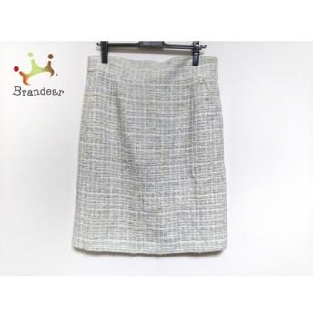 シャネル CHANEL スカート サイズ46 XL レディース 美品 P35515 ツイード/ラメ 新着 20200315